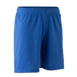 Pantalón corto de Fútbol Kipsta F100 niños azul