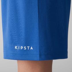 Pantalón corto de fútbol niños F100 azul