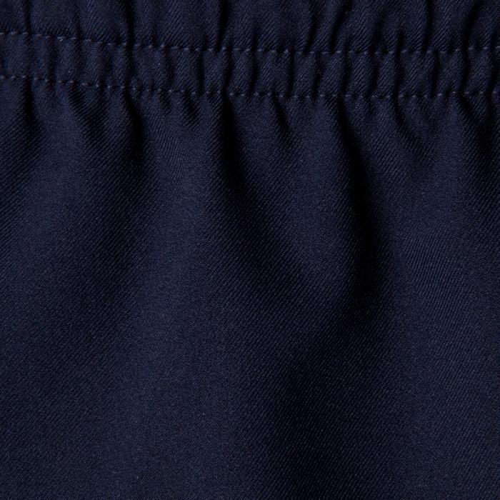 Short de football enfant F500 bleu marine et indigo