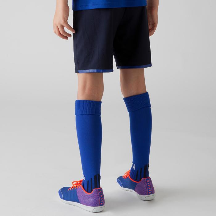 Short de football enfant F500 gris et - 1266341