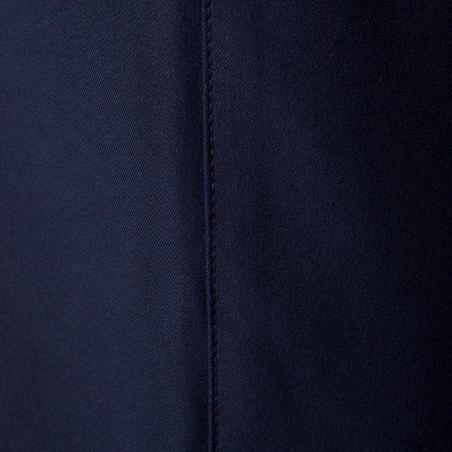 Short de fútbol para niños F500 azul marino e índigo