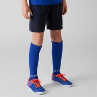 F500 Soccer Shorts Navy Blue/Indigo - Kids'