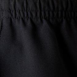 F500 Kids' Soccer Shorts - Blue / Black / Neon Yellow