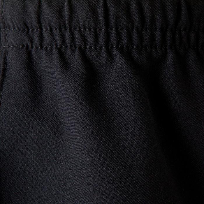 Voetbalshort voor kinderen F500 blauw zwart en fluogeel