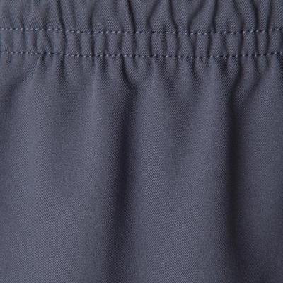 F500 Kids' Football Shorts - Grey/Acid Yellow