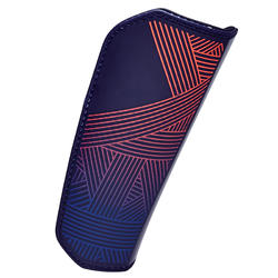 F180 Adult Soccer Shin Pads - Blue/Orange