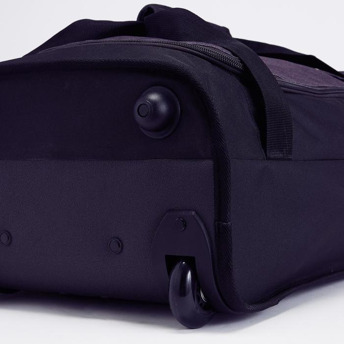 Classic 30L Rolling Team Sports Bag - Black/Red - 1266458