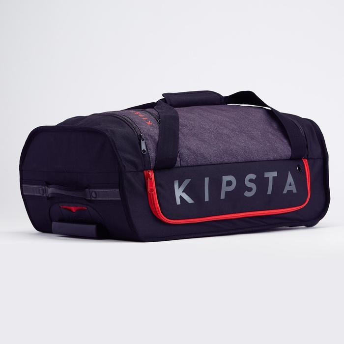Sporttasche mit Rollen Classic Trolley 30L schwarz/rot