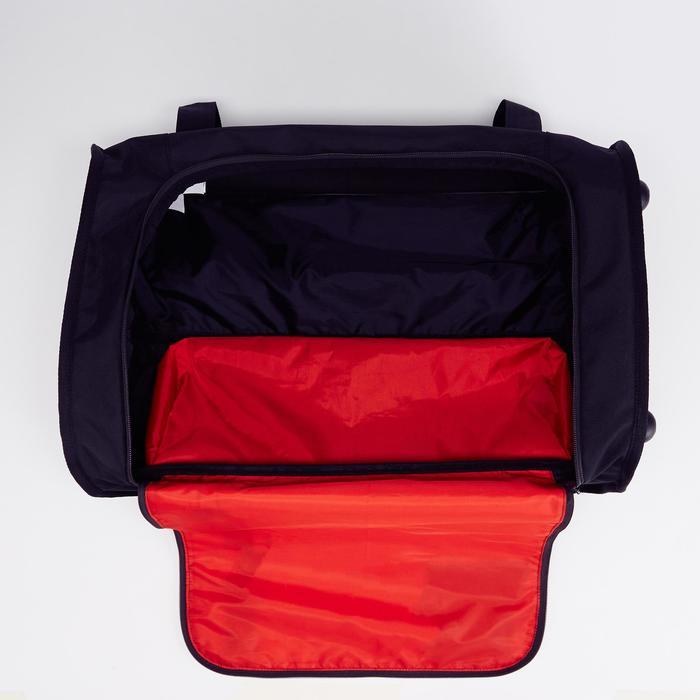 Sporttas op wielen voor teamsport Classic 30 liter zwart rood