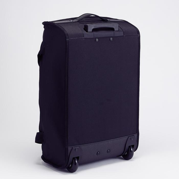 Classic 30L Rolling Team Sports Bag - Black/Red - 1266465