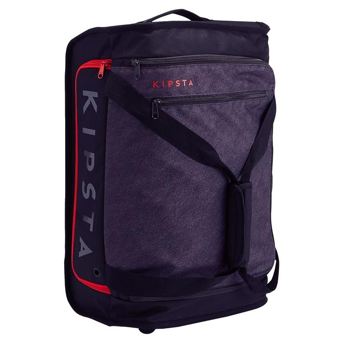 Classic 30L Rolling Team Sports Bag - Black/Red - 1266466