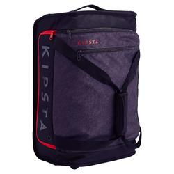 Classic 30L Rolling Team Sports Bag - Black/Red