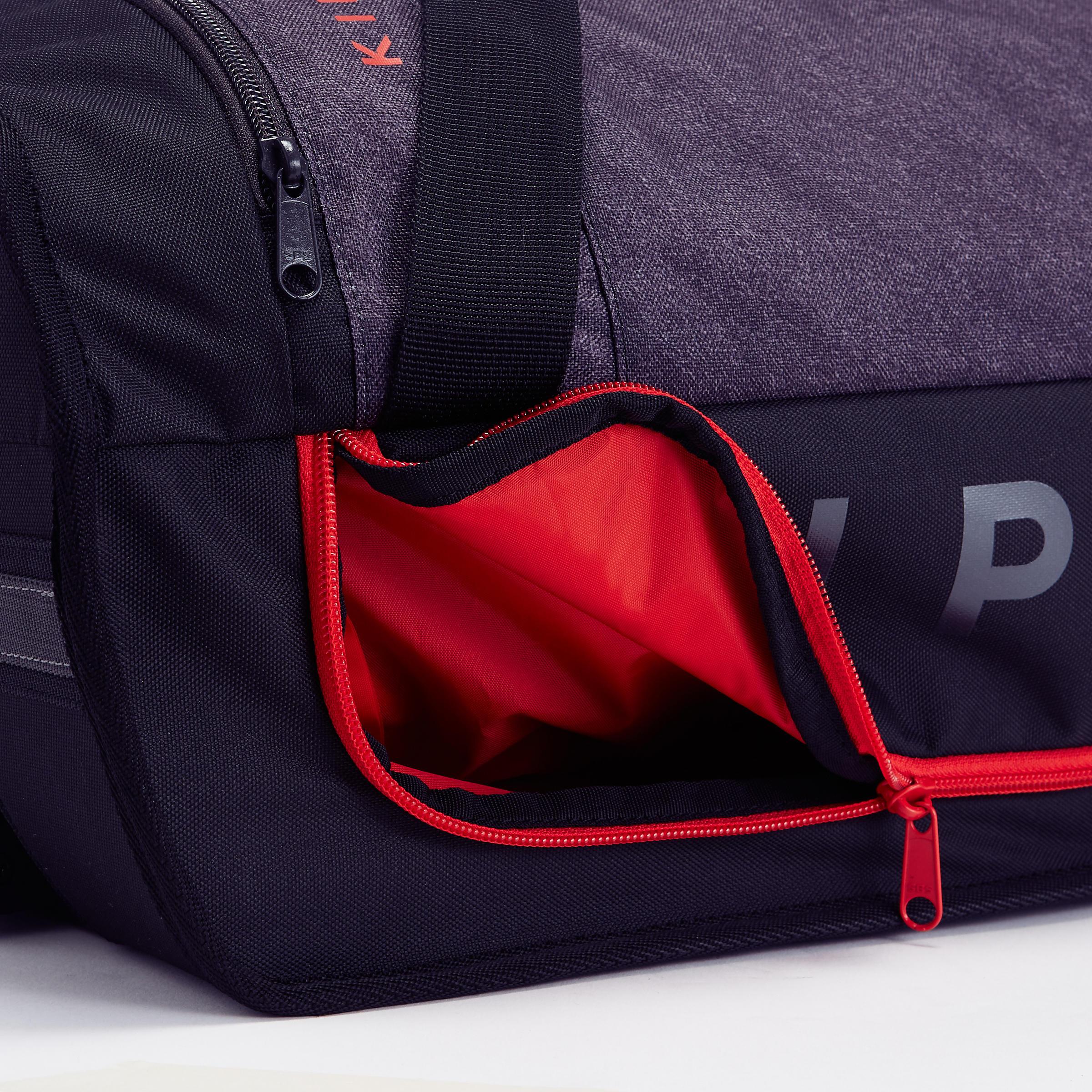 Football Trolley Bag Classic 30L - Black/Red