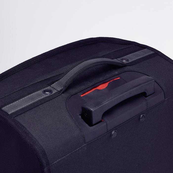 Classic 30L Rolling Team Sports Bag - Black/Red - 1266469