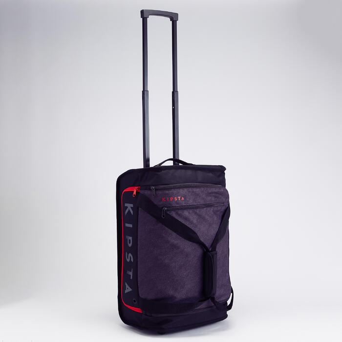 Essential 30公升滾輪式背包 - 紅色
