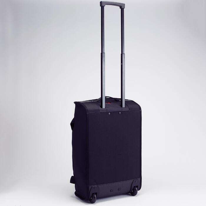 Handbagage trolley Classic 30 liter zwart/rood