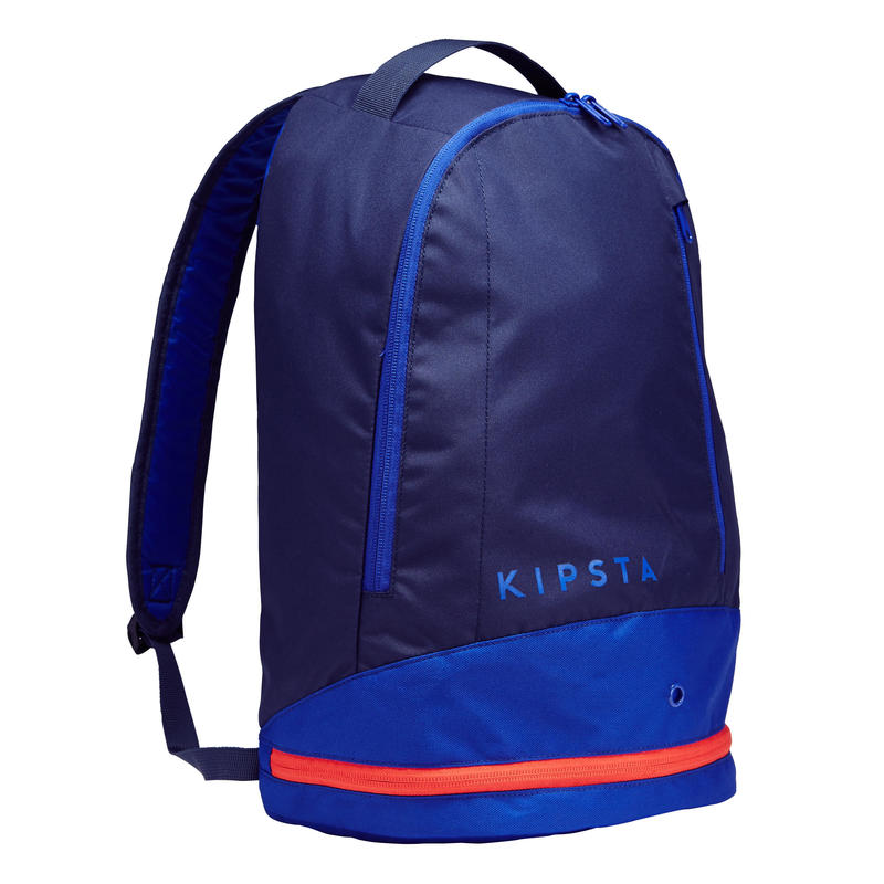 sac dos de sports collectifs intensif 20 litres bleu vert decathlon martinique. Black Bedroom Furniture Sets. Home Design Ideas