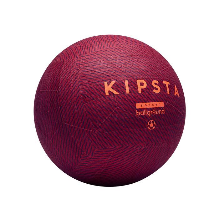 Ballon de football Ballground 100 rouge