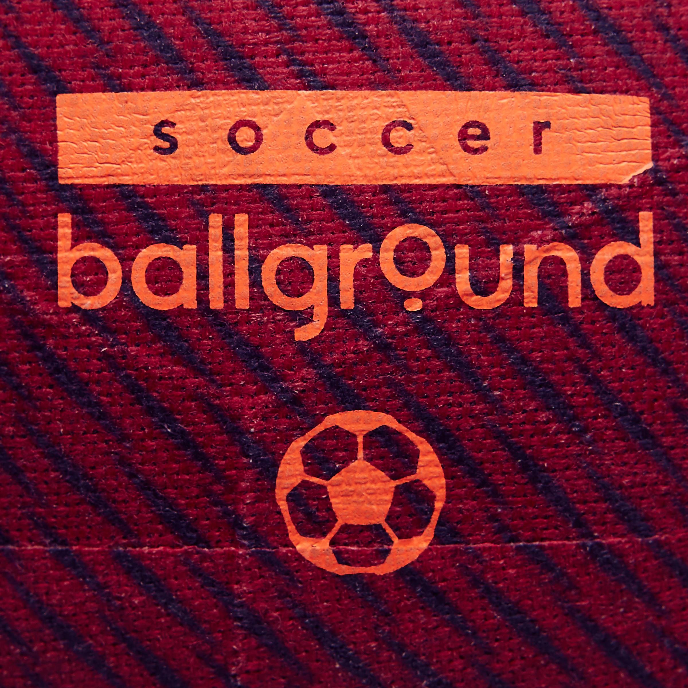 Ballground 100 Football Red