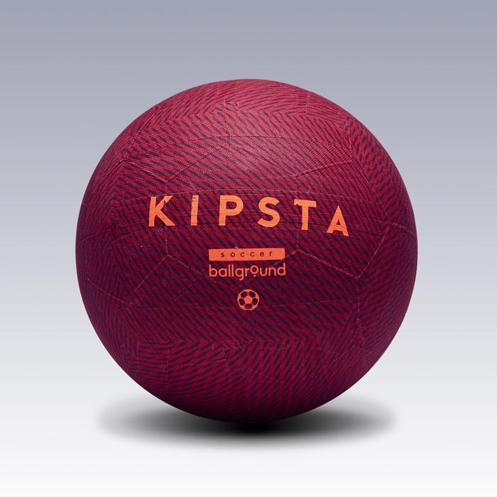 Ballon de football Ballground 100 rouge - 1266496