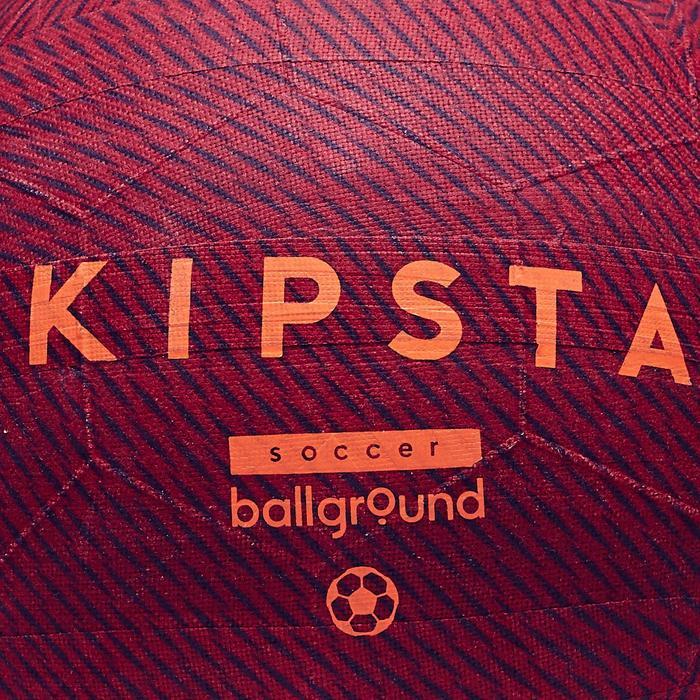 Ballon de football Ballground 100 rouge - 1266497