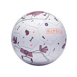 Balón de fútbol Machina talla 5 blanco