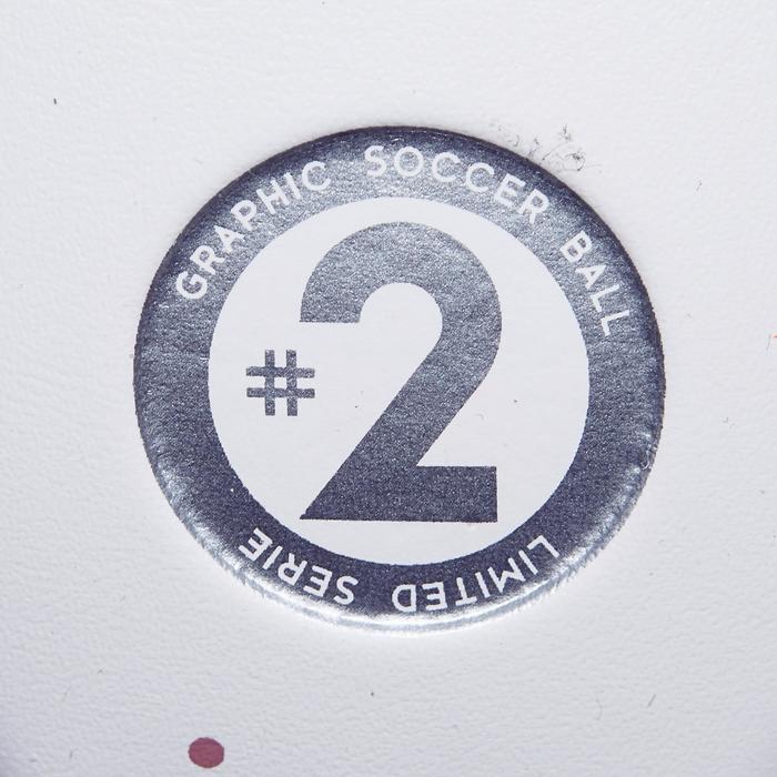 Ballon de football Machina taille 5 blanc - 1266503