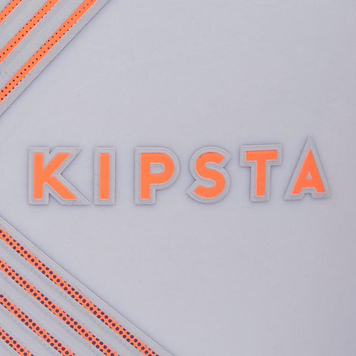 Espinillera fútbol Kipsta F180 Adulto Gris Naranja