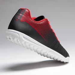 Voetbalschoenen voor kinderen hard terrein Agility 100 HG zwart wit rood