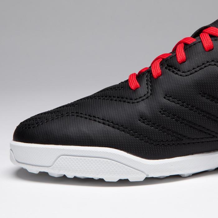 Chaussure de football enfant terrains durs Agility 100 HG Noire blanche rouge - 1266520