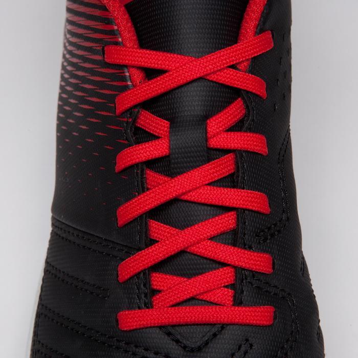 Chaussure de football enfant terrains durs Agility 100 HG Noire blanche rouge - 1266521