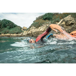 Masque de natation 500 ACTIVE taille L Bleu verres clairs