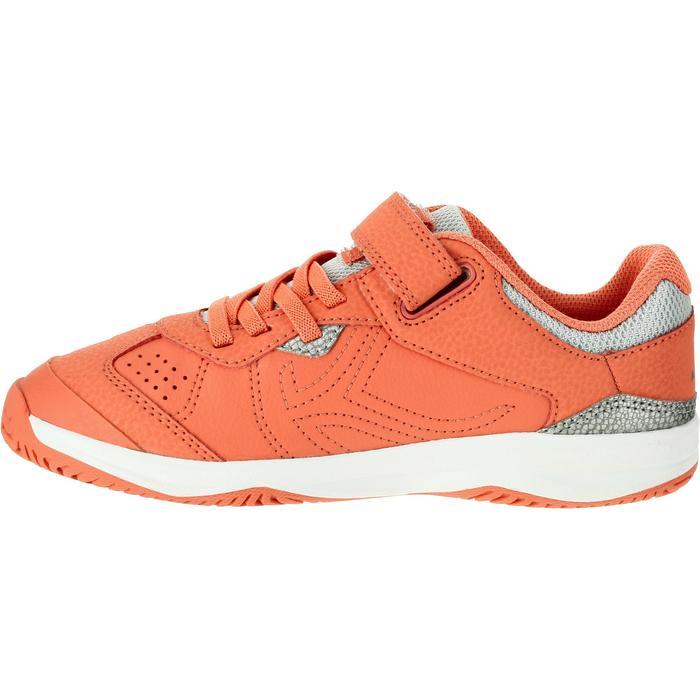 Tennisschoenen kinderen Artengo TS160 koraalrood