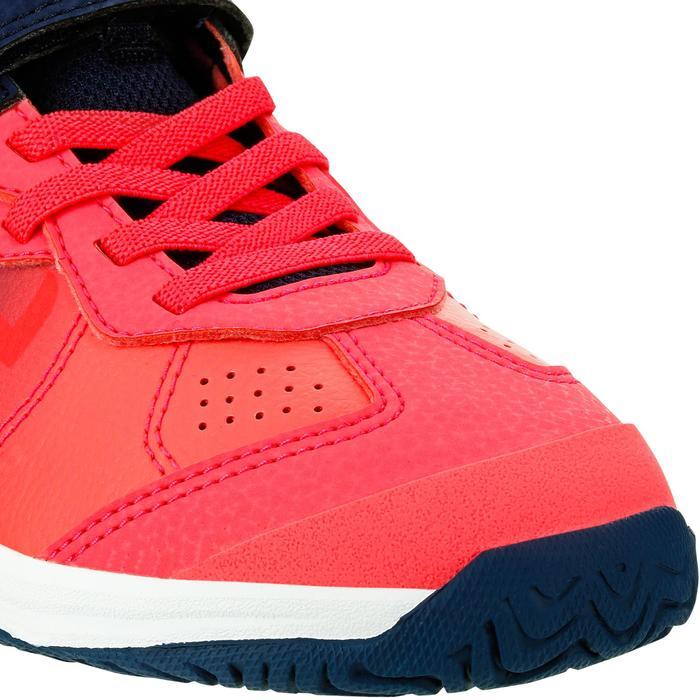 Tennisschuhe TS160 Kinder pink Farbverlauf