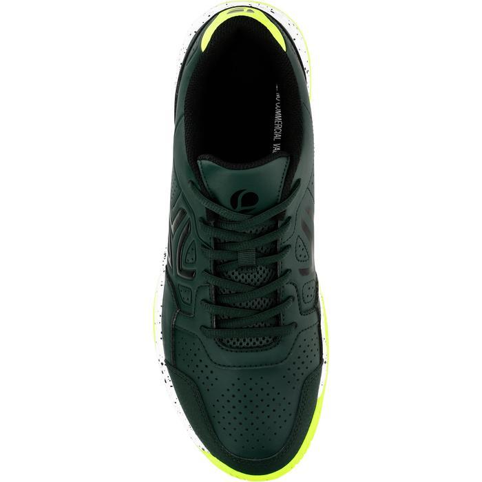 Tennisschoenen voor heren TS190 kaki multicourt