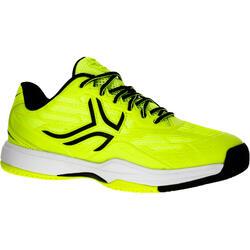 兒童款網球鞋TS990-螢光黃