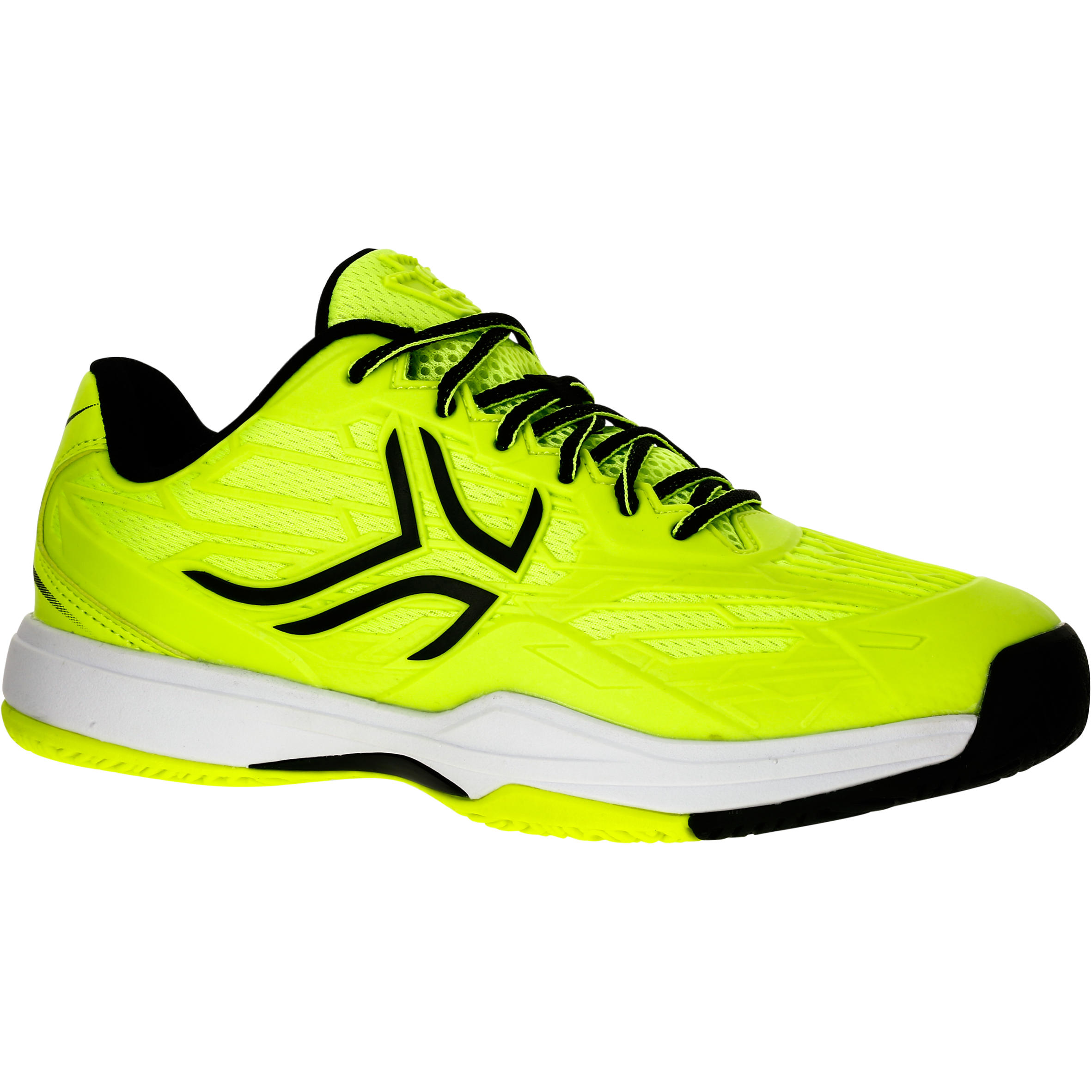 TS990 Kids Tennis Shoes - Neon Yellow