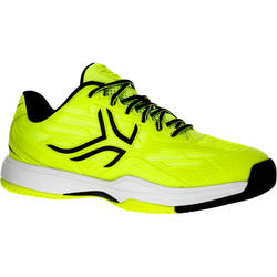TS990 Kids Tennis Shoes - Neon Yellow