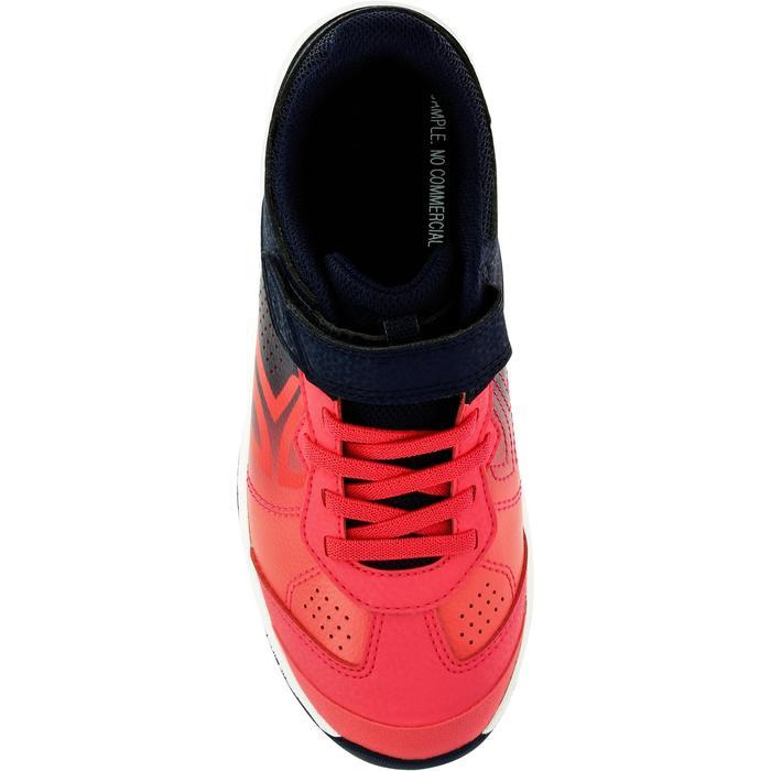 Tennisschoenen kinderen Artengo TS160 verlopend roze