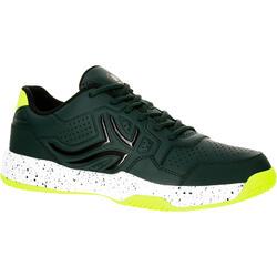 Chaussures de Tennis Homme TS190 Kaki Multi Court