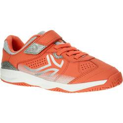 Tennisschoenen voor kinderen Artengo TS160 koraal