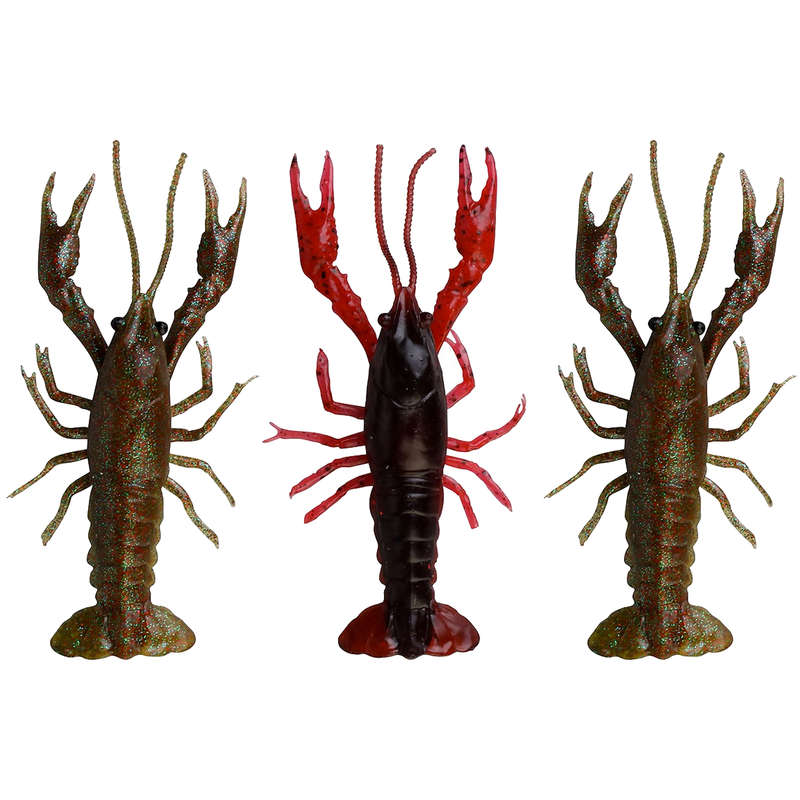 FISHING SOFTBAITS 6TO10CM and BLACKBASS Fishing - 3D CRAYFISH KIT 8CM NO BRAND - Pike and Predator Fishing