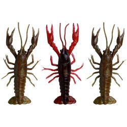 Gummiköder-Set 3D Crayfish 8 cm Raubfischangeln