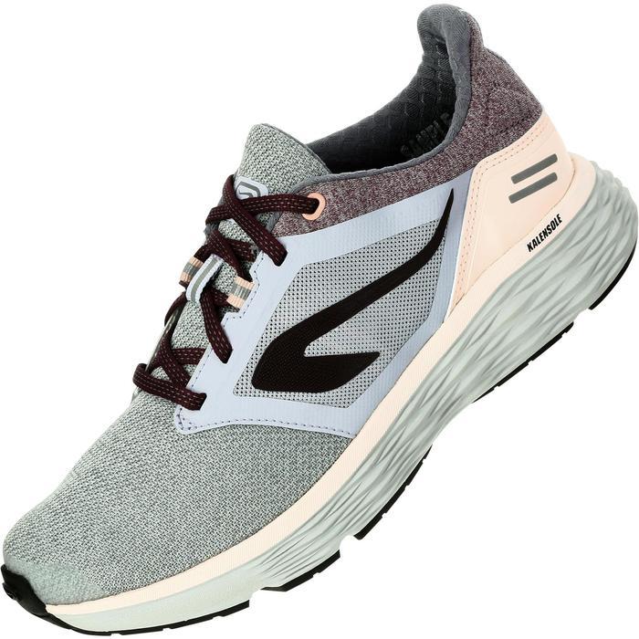 Joggingschoenen voor dames Run Comfort grijs roze