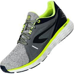 Laufschuhe Run Comfort Herren grau/gelb