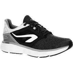 Zapatillas Running Kalenji Run Confort Mujer Negro/Gris