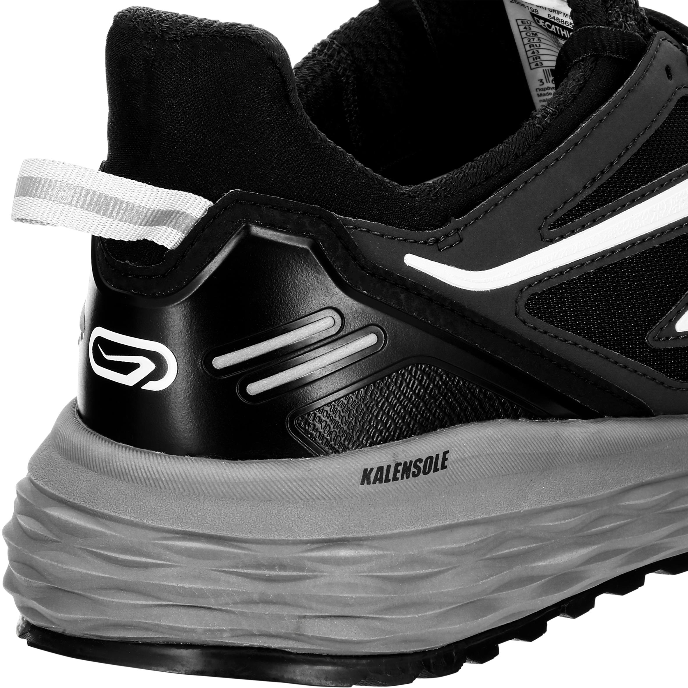 comfortable black running shoes