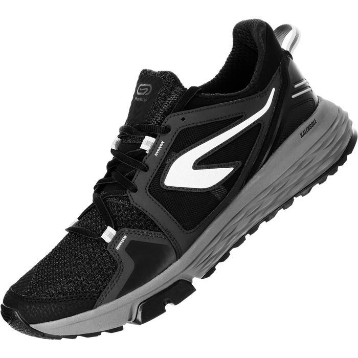 Laufschuhe Run Comfort Grip Herren schwarz