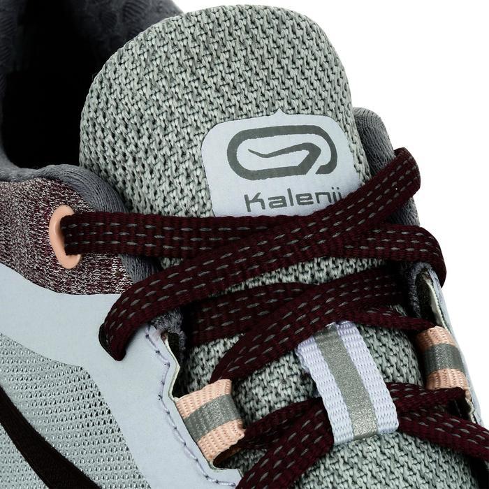 Laufschuhe Run Comfort Damen grau/rosa