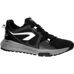 online store c179e 3bba0 Zapatillas Running Kalenji Run Confort Grip Hombre Negro/Gris/Blanco